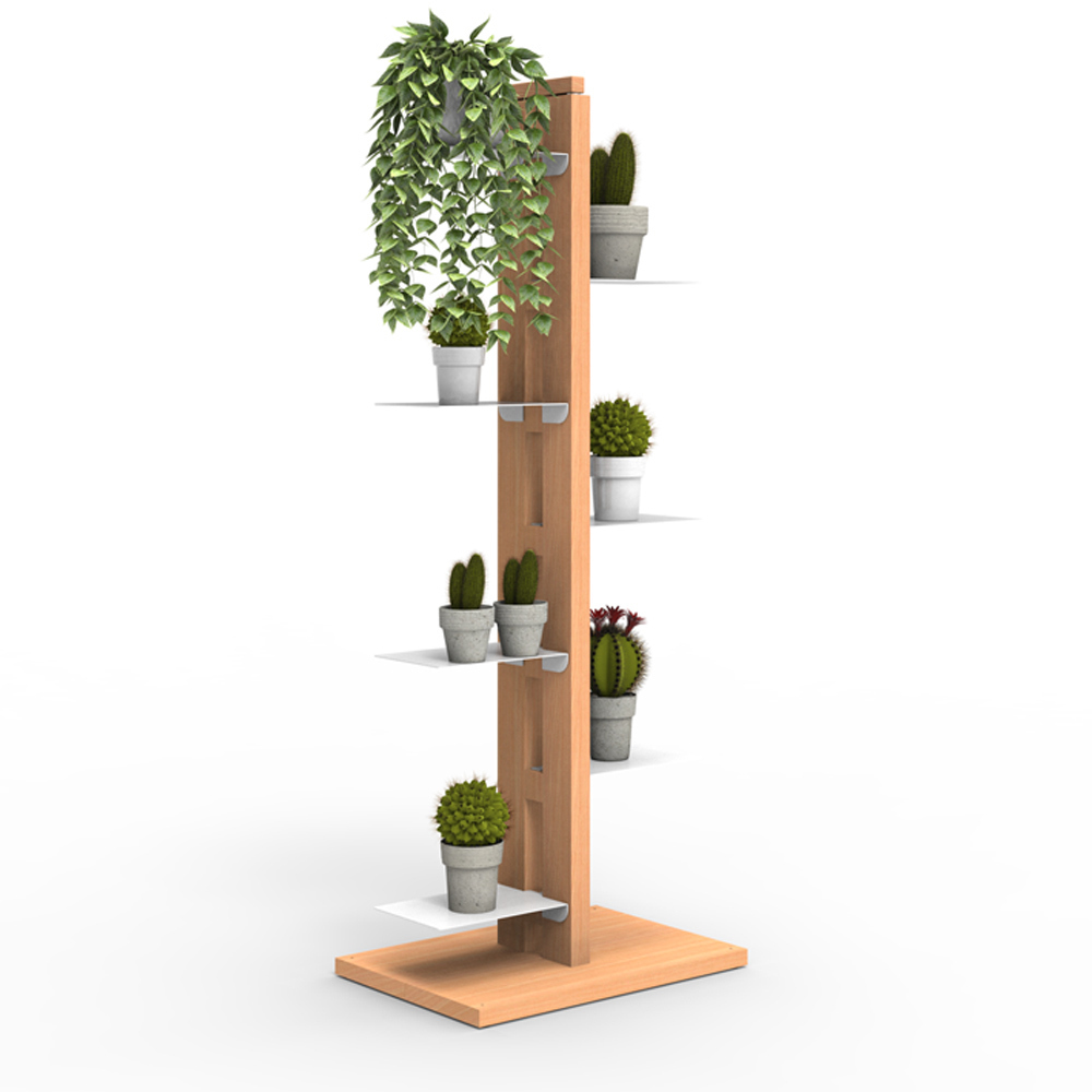 Zia Flora |  Indoor column plant holder | h 105 cm