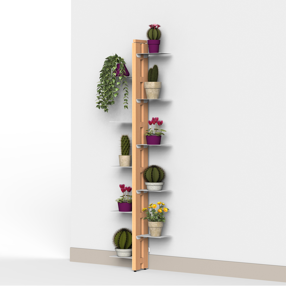 Zia Flora | Indoor wall plant holder  | h 150 cm