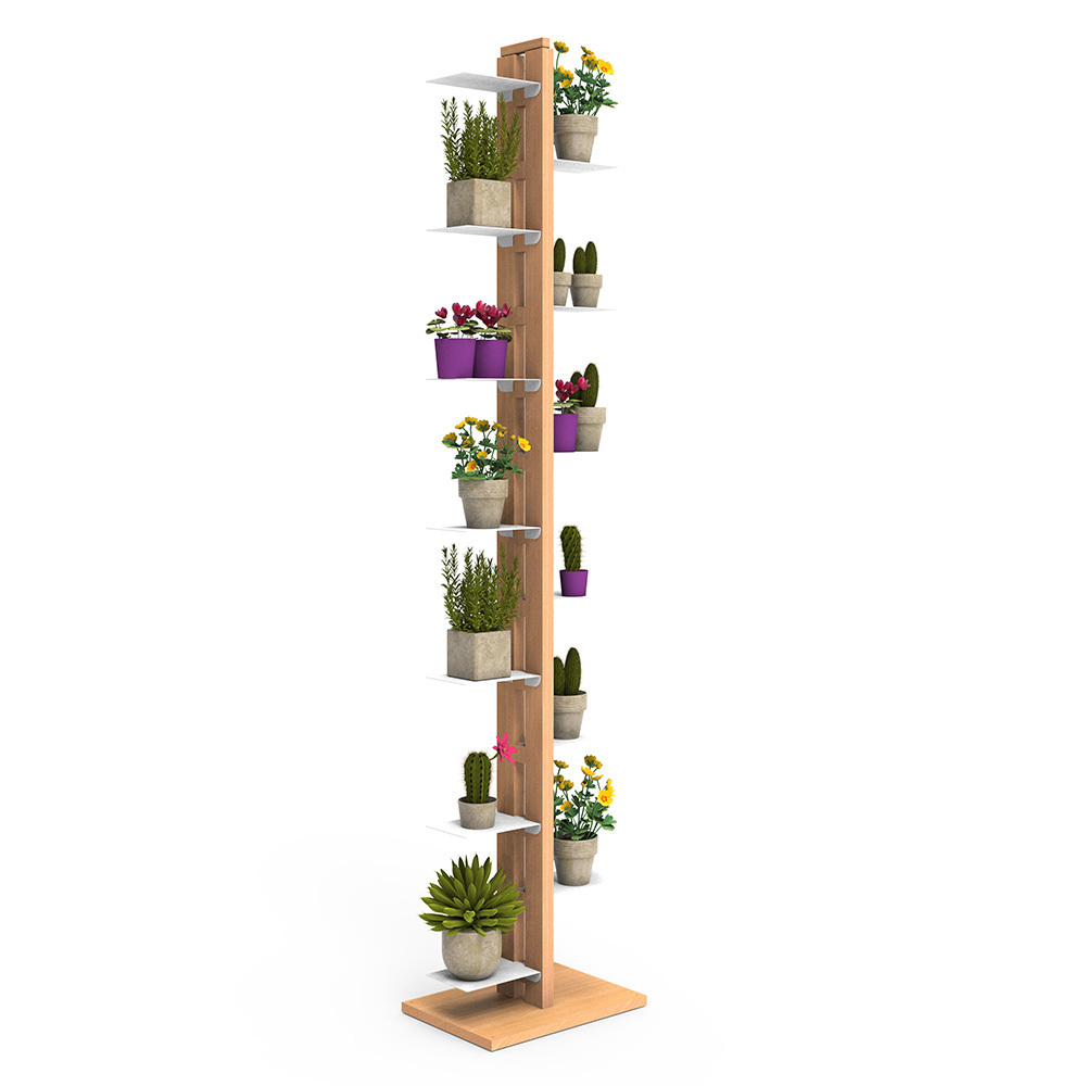 Zia Flora |  Indoor column plant holder | h 195 cm